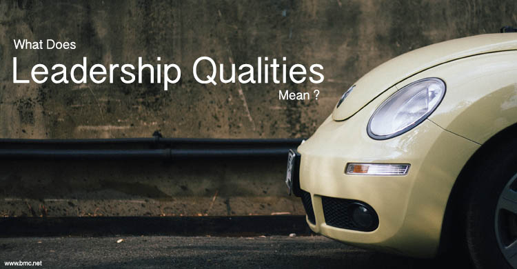 What Does Leadership Qualities Mean ?